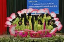 Khai mạc triển lãm ảnh của học sinh THCS về SKSS-TD